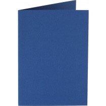 rechthoekige staande kaart (10,5 x 14,8 cm) irisblauw (931) voorheen 31 irisblauw