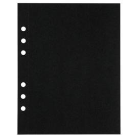 (Art.no. 920810) 20 vel MyArtBook Paper 120 GSM Black drawingpaper Size 165 x 210 mm (A5)