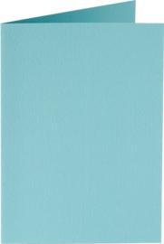 rechthoekige staande kaart (10,5 x 14,8 cm) azuurblauw (904) voorheen 04 azuurblauw