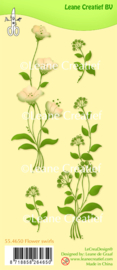 Clear stamp Leane: Flower swirls (554650)