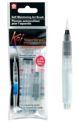 Water penseel: medium