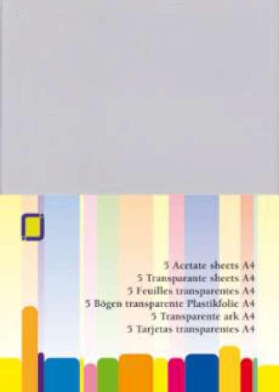 Plastic sheets (5 vel A4)