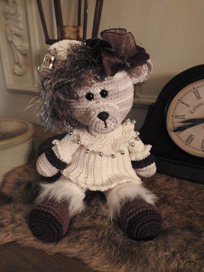 Haakpakket bear Whitney