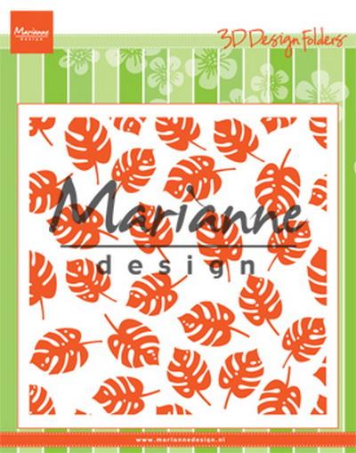 Design folder (DF3449) tropische bladeren