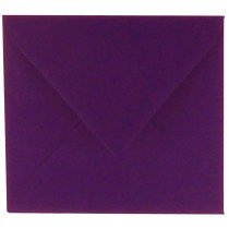 vierkante envelop (14 x 14 cm) violetta (968)