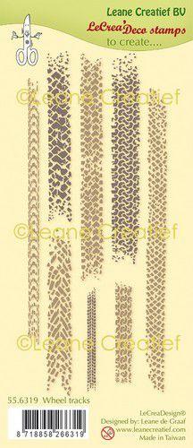 Clear stamp Leane: Banden sporen 556319