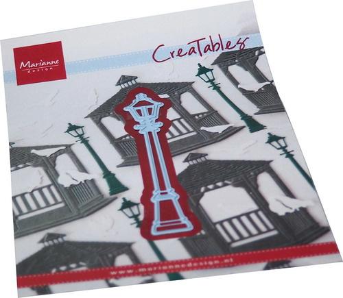 Creatables stencil Street lantern LR0724