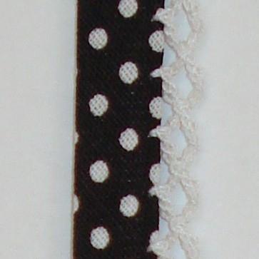 Biaisband zwarte stip (01)
