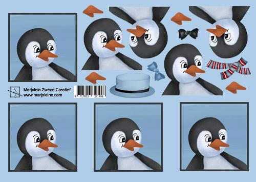 1498 aankleed pinguïn