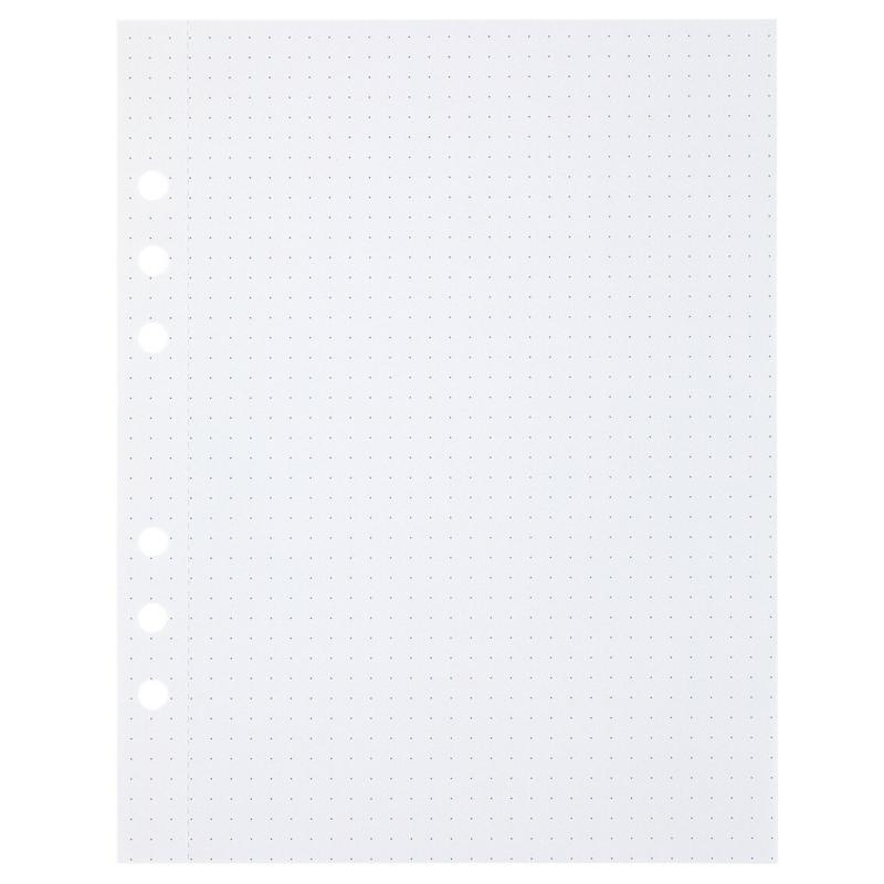 (Art. no. 920812) 50 vel MyArtBook Paper 150 GMS Dotted Paper Size 165 x 210 mm (A5)