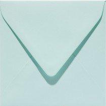 vierkante envelop (14 x 14 cm) zeegroen (917) voorheen 17 zeegroen