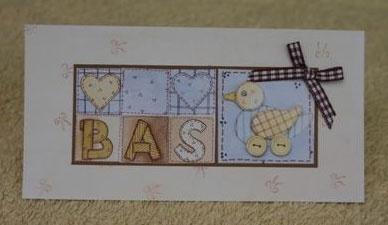 Voorbeeld kaart eendjes