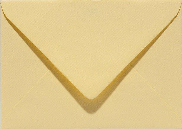 envelop rechthoekig 114x162mm - C6 narcisgeel (928) voorheen 28 narcisgeel