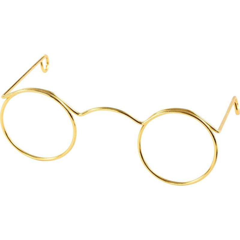 Poppen bril 60 mm