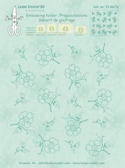 Embossing folder Leane: blossom (350.676)