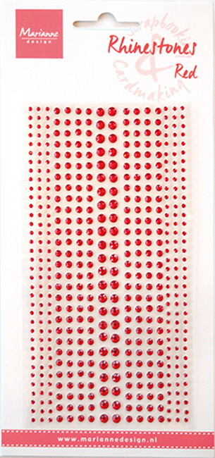 Rhinestones red CA3159