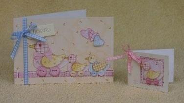 Voorbeeld kaarten eendjes