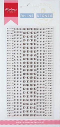 Rhinestones zilver CA3136