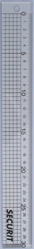 Blokjes-liniaal 30cm