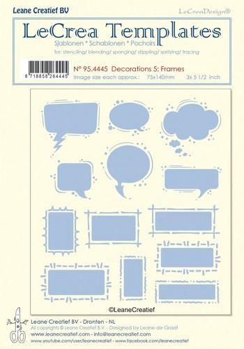 Sjabloon Leane 95.4445 frames