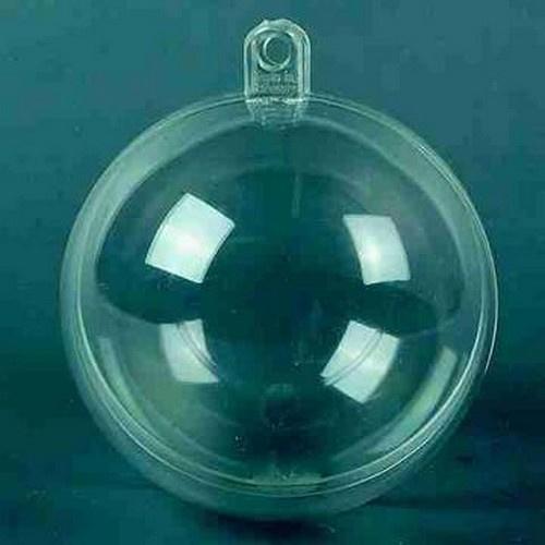 Transparante bal 12 cm doorsnede