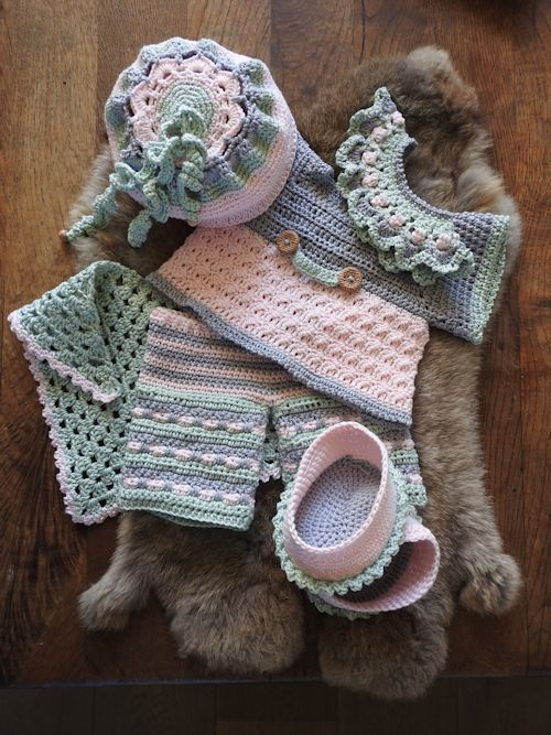 XXL Haakpakket Funny Bunny kledingset Spring Soft