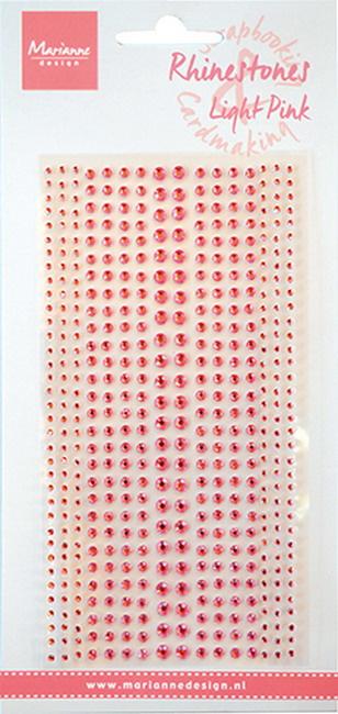 Rhinestones light pink CA3156