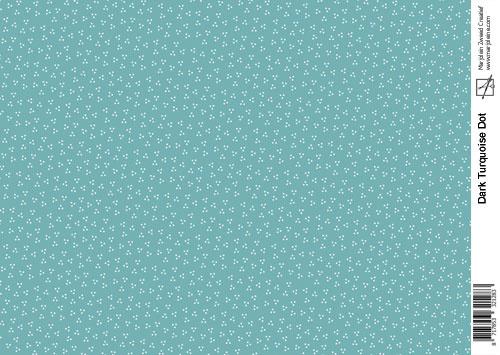 1283 dark turquoise dot