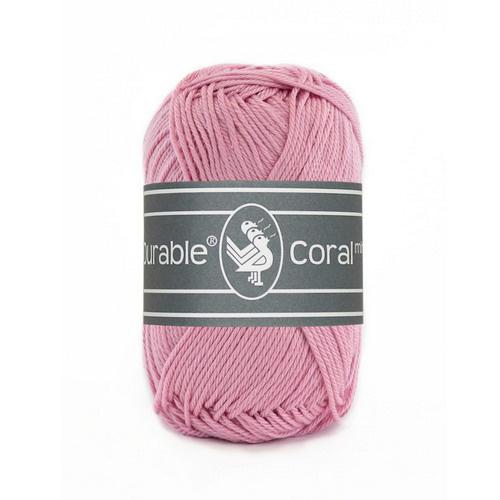 Haakkatoen 0224 Coral mini Old rose
