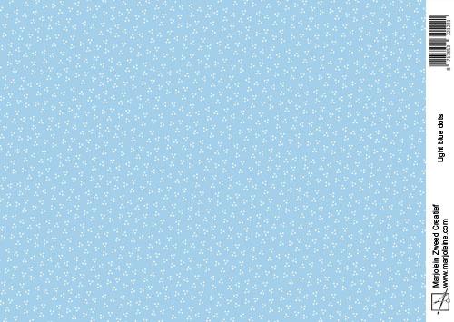 1221 light blue dots