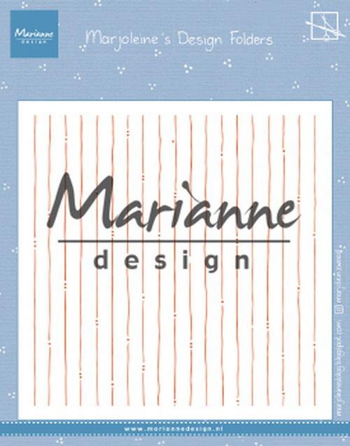 Design folder (DF 3456) Marjoleine's stripes