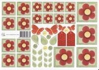 Rode bloemen (roosjes) 0835