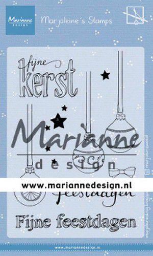 Clear stamp: (MZ 1906) Marjoleine's kerstballen