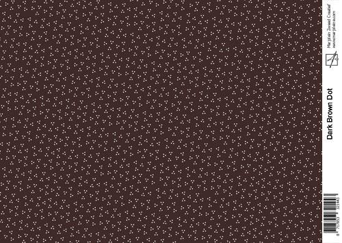 1443 dark brown dot