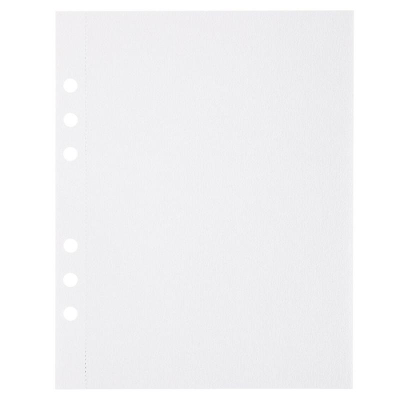 (Art.no. 920805) 10 vel MyArtBook Paper 200 GSM Ultrawhite Watercolour Paper Size 165 x 210 mm (A5)