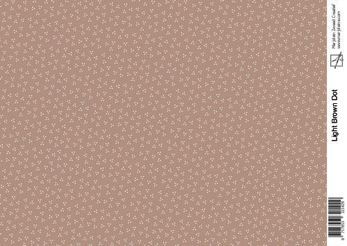 1429 light brown dot