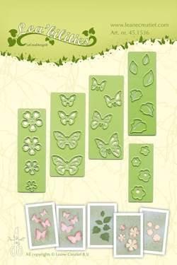 Lea'bilitie mal small butterflies & flowers (451536)