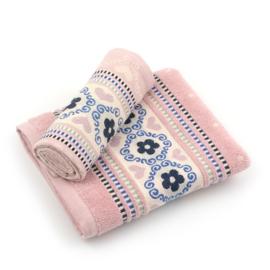 Keukentextiel biologisch katoen, Blossom Pink, Bunzlau Castle