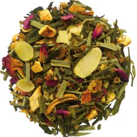 Geheim van Toetanchamon, Groene- Witte thee