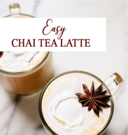 RECEPT EASY CHAI LATTE