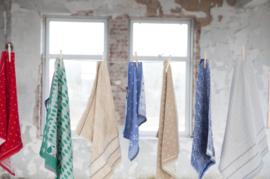 Bunzlau Castle, keukentextiel, handdoek en theedoek,  Wood Violet Red