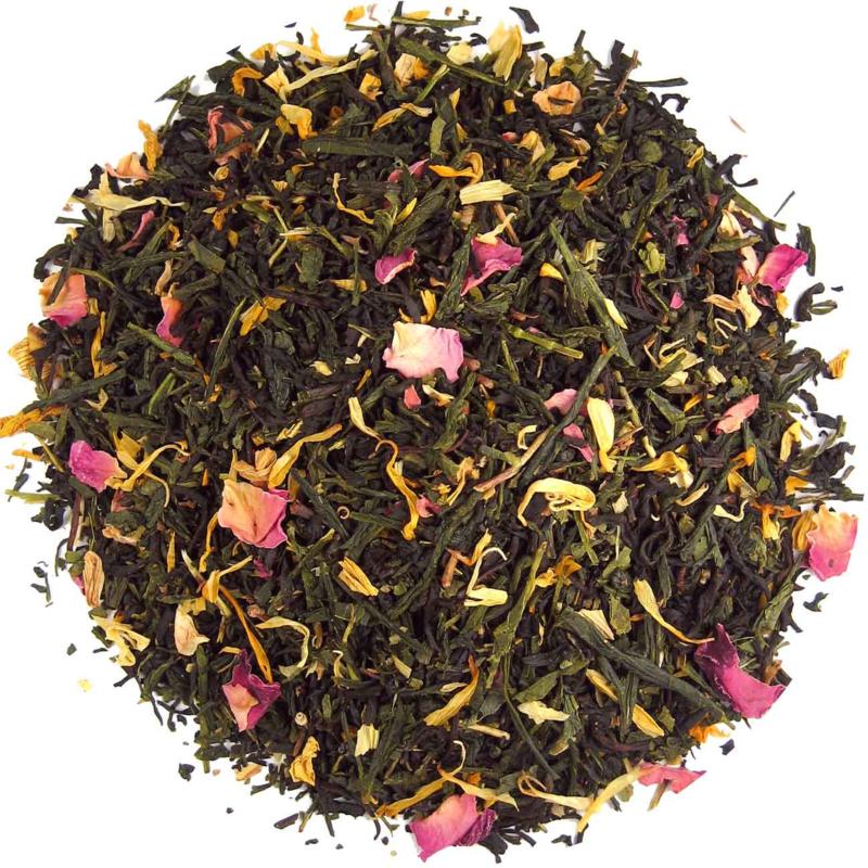 1001 Nacht thee, groene en zwarte thee met jasmijnbloesem