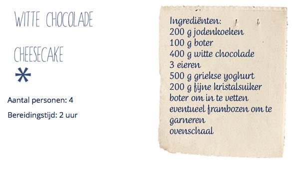 WHITE CHOCOLADE CHEESCAKE