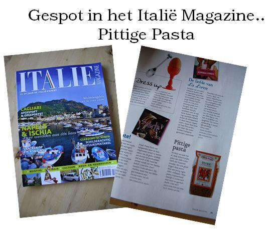O-lijf in Italie Magazine_ pittige pasta