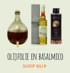 Olijfolie_balsamico azijn_fruitazijnen