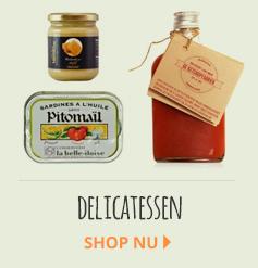 Delicatessen mediterrane producten