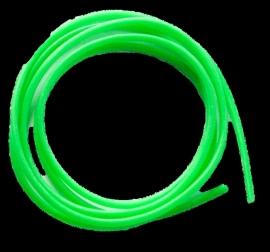Siliconen slang fluoriserend