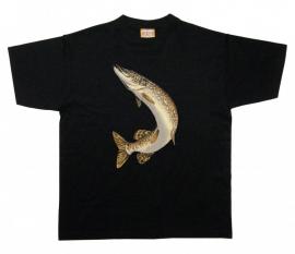 Snoek T-Shirt Springend