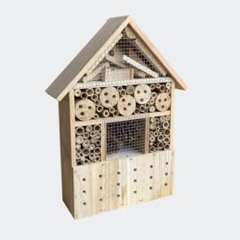 Insectenhotel 280 x 110 x 370 mm, natuurlijk nesthulpmiddel voor insecten.