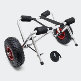 Aluminium transportwagen, boottrolley kanotrolley, opvouwbaar
